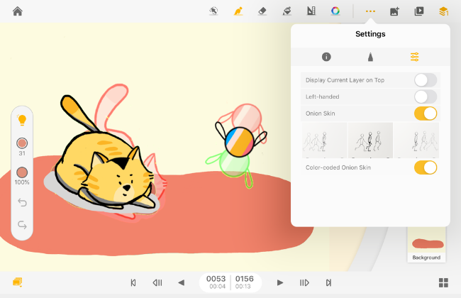 AnimationDesk_OnionSkin